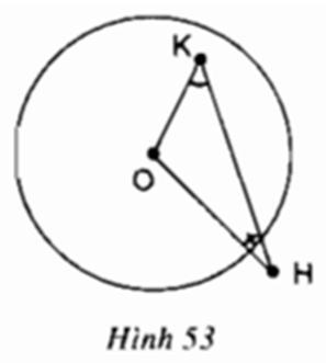 Giải bài tập SGK Toán lớp 9 bài 1: Sự xác định đường tròn. Tính chất đối xứng của đường tròn