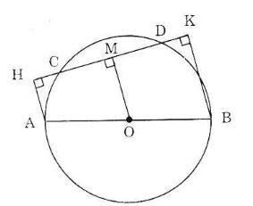 Giải bài tập Toán lớp 9 bài 2: Đường kính và dây của đường tròn