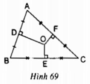 Giải bài tập Toán lớp 9 bài 3: Liên hệ giữa dây và khoảng cách từ tâm đến dây