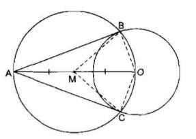Giải bài tập Toán lớp 9 bài 5: Dấu hiệu nhận biết tiếp tuyến của đường tròn