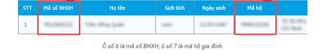 Cách tra mã số BHXH
