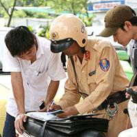 Các lỗi vi phạm giao thông bị tước bằng lái xe