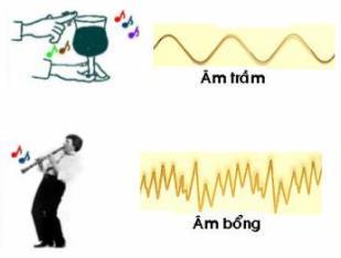 Lý thuyết Vật lý lớp 7 bài 11: Độ cao của âm