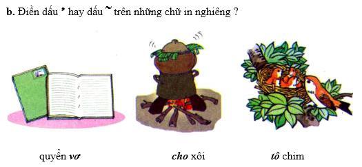 Lý thuyết Tiếng Việt 1: Chính tả: Tặng cháu
