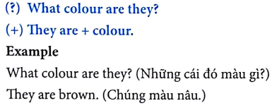 Tiếng Anh lớp 3 Unit 9: What color is it?