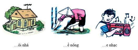 Lý thuyết Tiếng Việt 1: Chính tả: Mời vào