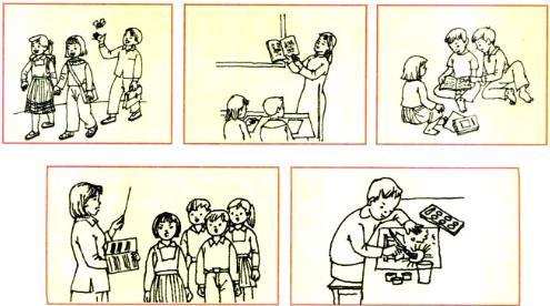 Lý thuyết Tiếng Việt 1: Tập đọc: Mèo con đi học