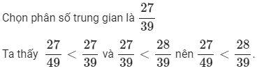So sánh hai phân số (nâng cao)