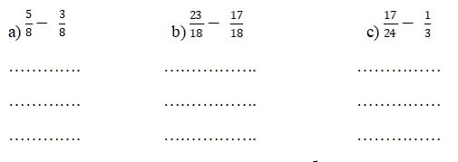 Đề kiểm tra cuối tuần môn Toán lớp 4