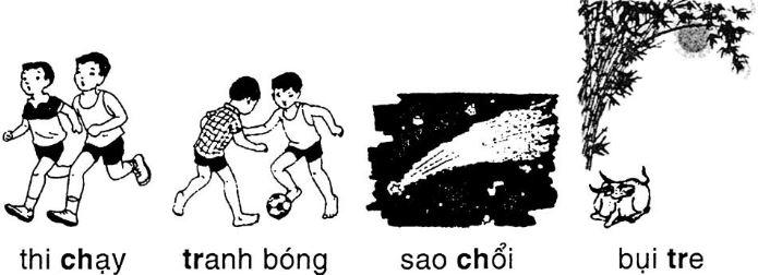 Giải vở bài tập Tiếng Việt 1 tập 2: Luyện Chính tả