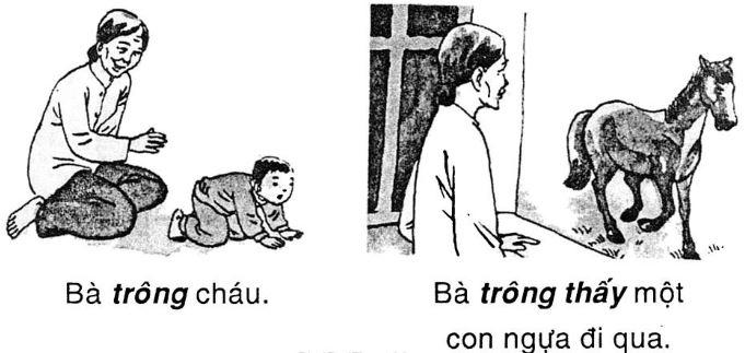 Giải vở bài tập Tiếng Việt 1 tập 2: Tập đọc: Vẽ ngựa