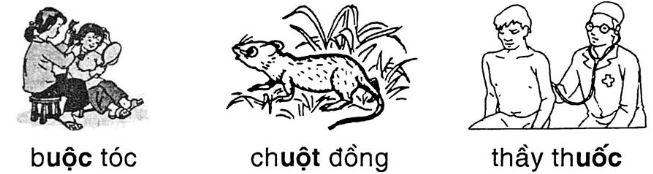 Giải vở bài tập Tiếng Việt 1 tập 2: Chính tả: Chuyện ở lớp