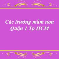Các trường mầm non quận 1 thành phố Hồ Chí Minh