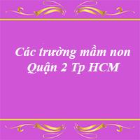 Các trường mầm non quận 3 thành phố Hồ Chí Minh