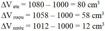 Bài tập Vật lý lớp 6: Ôn tập chương 2 - Nhiệt học