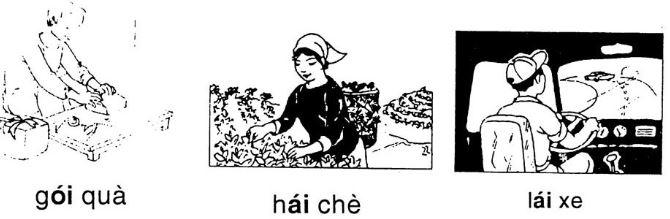 Giải vở bài tập Tiếng Việt 1 bài 32: oi ai