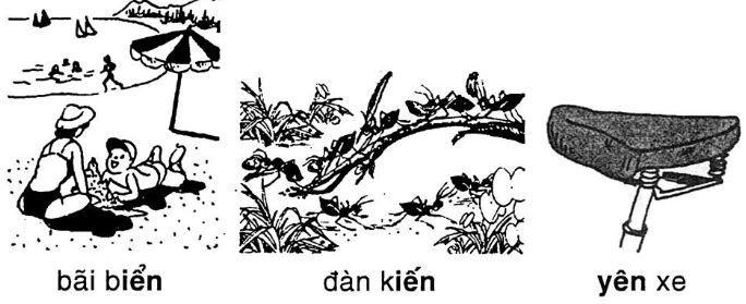 Giải vở bài tập Tiếng Việt 1 bài 49: iên yên