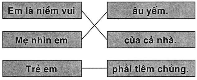 Giải vở bài tập Tiếng Việt 1 bài 65: iêm yêm