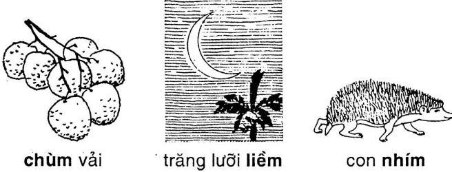 Giải vở bài tập Tiếng Việt 1 bài 67: Ôn tập