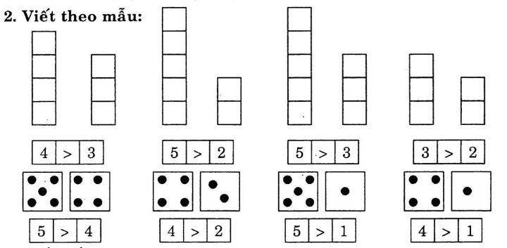 Giải Vở bài tập Toán 1 bài 11 tập 1