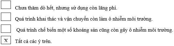 Tập bản đồ Địa Lý lớp 8 bài 26: Đặc điểm tài nguyên khoáng sản Việt Nam