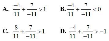 Bài tập Toán lớp 6: Phép cộng phân số