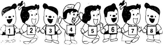 Giải Vở bài tập Toán 1 bài 18: Số 8