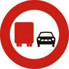 Biển báo cấm ô tô tải vượt P126