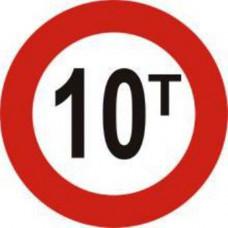 Biển báo hạn chế trọng lượng xe P115