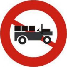 Biển báo cấm xe công nông P140