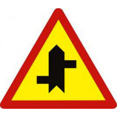 Biển báo giao nhau với đường không ưu tiên W207d