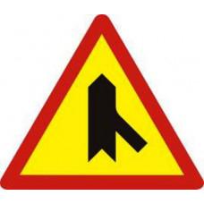 Biển báo giao nhau với đường không ưu tiên W207f