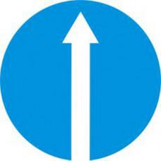Biển báo hướng đi phải theo