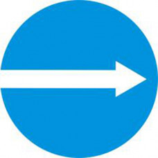 Biển báo các xe chỉ được rẽ phải