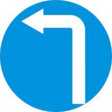 Biển báo các xe chỉ được rẽ trái