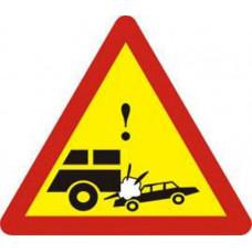 Biển báo đoạn đường thường xảy ra tai nạn
