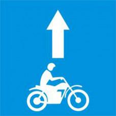 Biển báo làn đường dành riêng cho mô tô