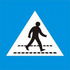 Biển báo đường người đi bộ sang ngang