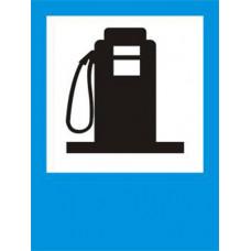 Biển báo Trạm cung cấp xăng dầu