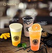 Menu trà sữa TocoToco