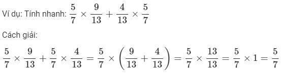 Lý thuyết Ôn tập phép nhân và phép chia hai phân số