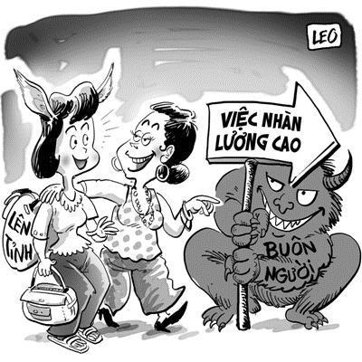 Bài tuyên truyền: Hưởng ứng Ngày toàn dân phòng, chống mua bán người – 30/7