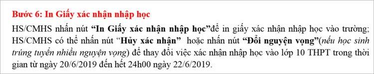 Hướng dẫn nhập học vào lớp 10 THPT ở Hà Nội