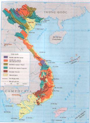 Giải bài tập SBT Địa lý 12 bài 4: Lịch sử hình thành và phát triển lãnh thổ