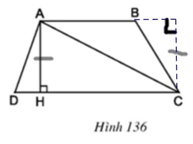 Giải bài tập SGK Toán lớp 8 bài 4: Diện tích hình thang