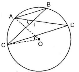 Giải bài tập SGK Toán lớp 9 bài 5: Góc có đỉnh ở bên trong đường tròn. Góc có ngoài ở bên trong đường tròn
