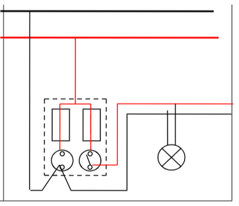 Giải VBT Công nghệ 8 bài 56: Thực Hành: Vẽ sơ đồ nguyên lý mạch điện