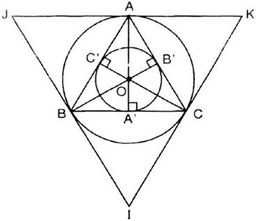 Giải bài tập SGK Toán lớp 9 bài 8: Đường tròn ngoại tiếp. Đường tròn nội tiếp