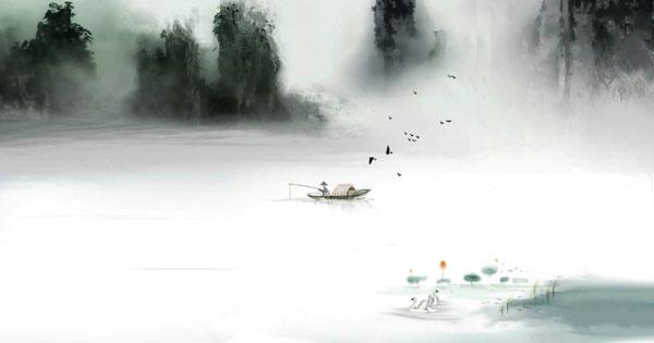 câu cá mùa thu
