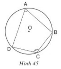 Giải bài tập SGK Toán lớp 9 bài 7: Tứ giác nội tiếp